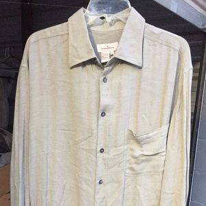 Ermenegildo Zegna Button Front Men's Shirt NWT